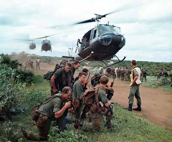 Troops in Vietnam