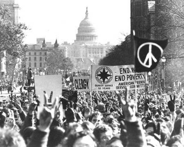 Largest Anti - War Rally in US History