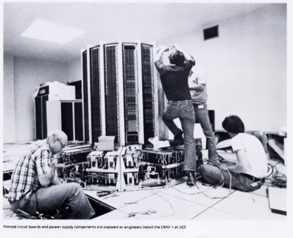 Produzido o Cray I, Super Computador
