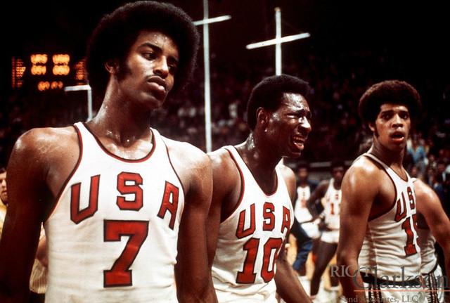 US vs USSR Basketball final
