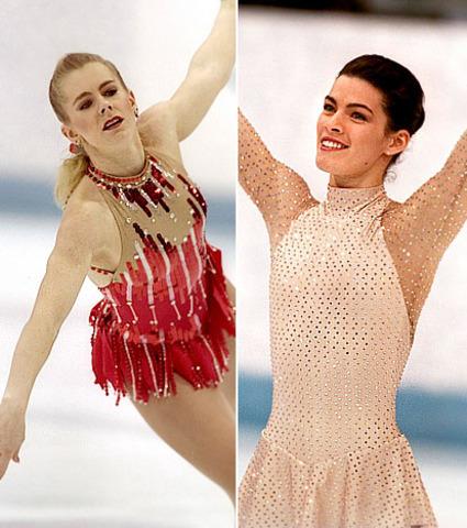 Tonya Harding & Nancy Kerrigan – Ice Skating