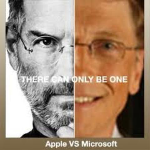 Microsoft vrs. Apple