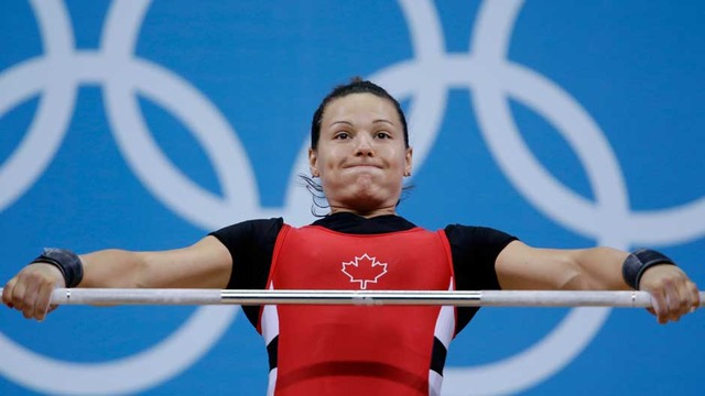 Weightlifter Girard wins Canada's 3rd bronze of day