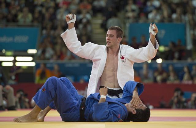 Antoine Valois-Fortier wins bronze in men's judo