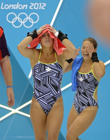 Benfeito, Filion take bronze in synchro diving
