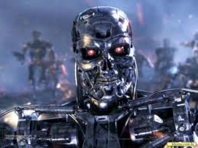 Lançamento do filme Terminator 2 (uma revolução em efeitos especiais)