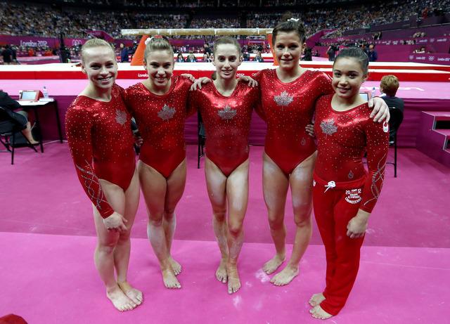 Women's gymnastics team places 5th