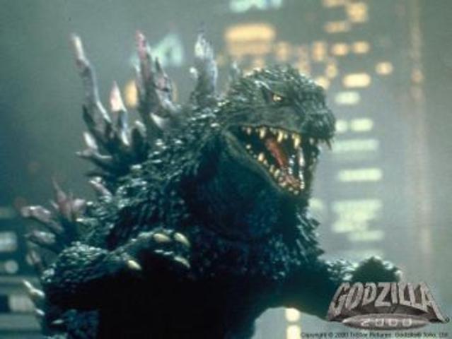 O Filme Godzilla foi Lançado