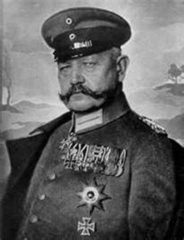 Hindenburg is reelected President by a small margin over Hitler.