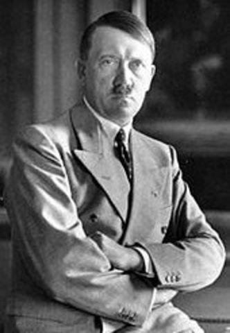 Adolf Hitler declared himself der Fuhrer. The Nazi German government is called the Third Reich.