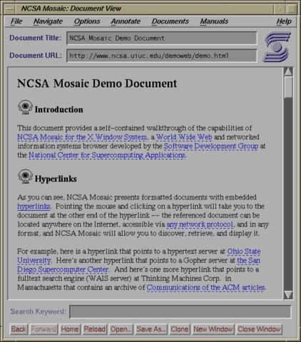 Netscape navegador Mosaic