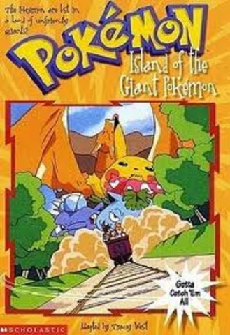 Pokemon island of the giant pokemon.