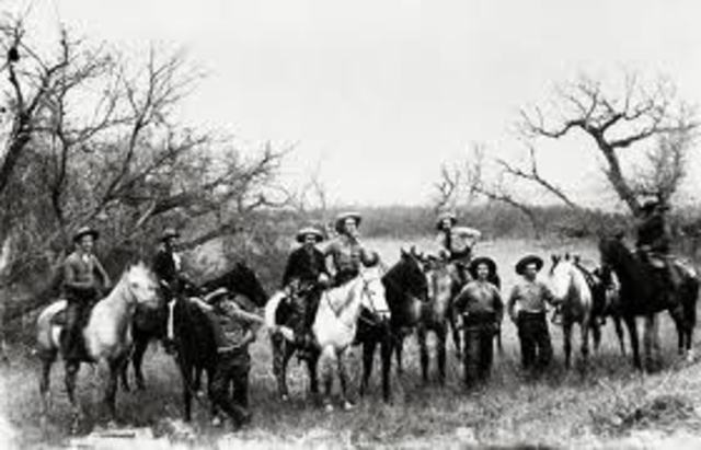 Louis Riel and the Metis battle the NWMP at Duck Lake (The Prairies)