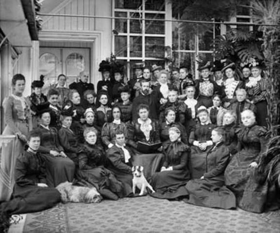The National Council of Women meets for the first time