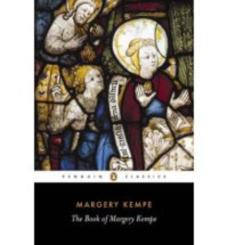 """Margery Kempe - """"The Book of Margery Kempe"""""""