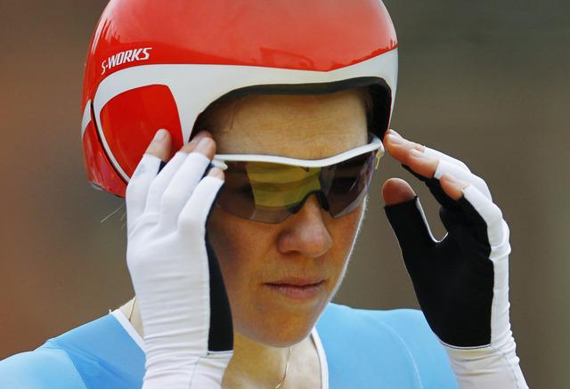 Clara Hughes finishes Olympic career