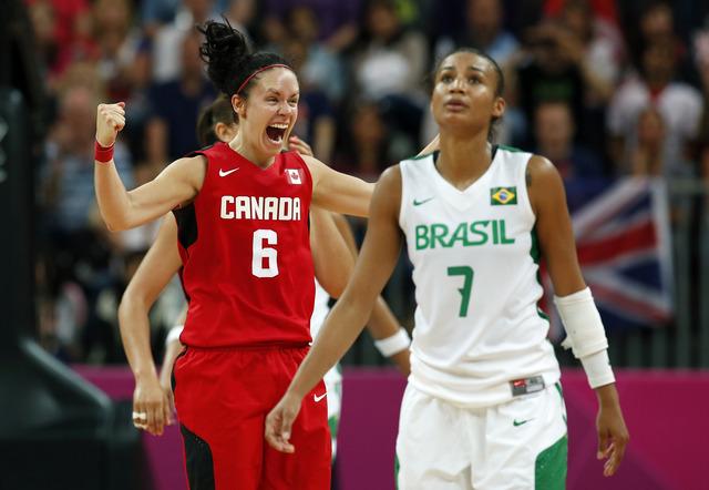 Basketball team book spot in women's quarters
