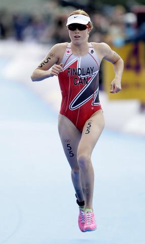 Paula Findlay finishes 52nd in triathlon