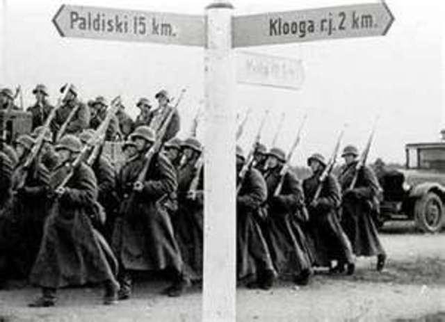 Germany invades Poland starting World War II