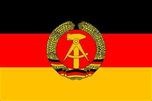 The German Democratic Republic was formed (East Germany)