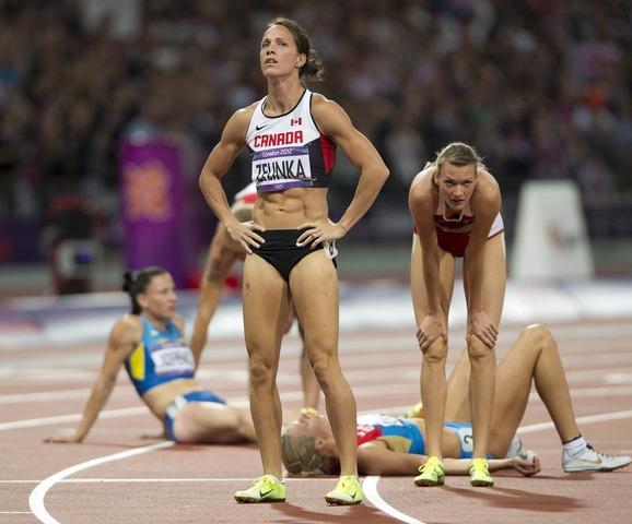 Zelinka, George, Holder all make 100m hurdle semis