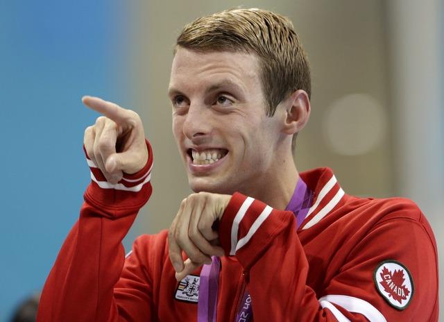 Ryan Cochrane takes silver in men's 1,500m freestyle