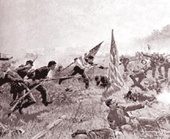 The Battle of Seven Oaks (Prairies)