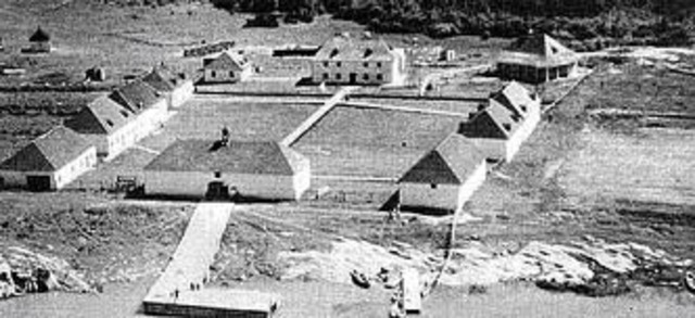 Construction of Lower Fort Garry (Prairies)