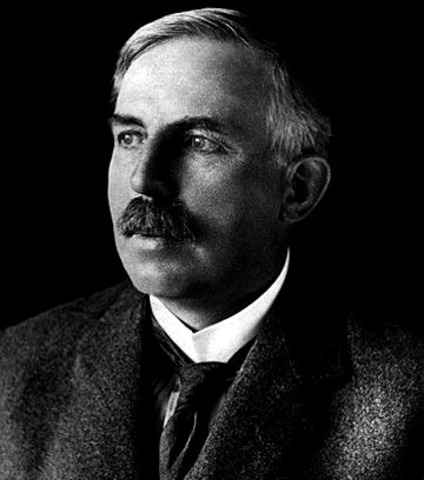 Ernest Rutherford periodic table theoty