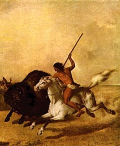 Metis Bison Hunters