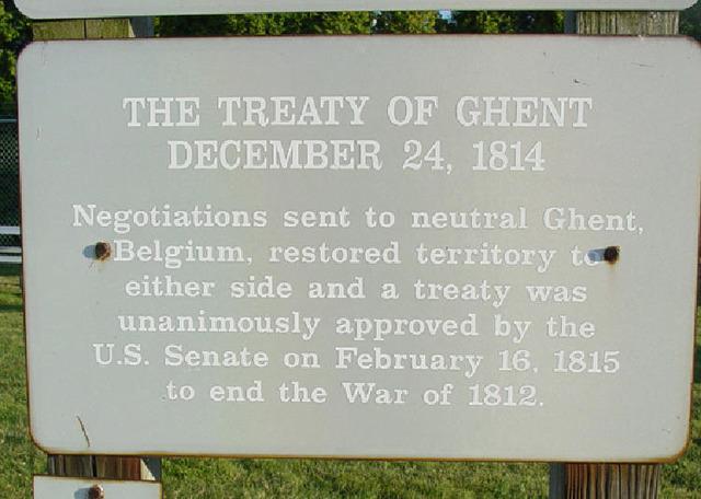 Treaty of Ghent (Eastern Canada)
