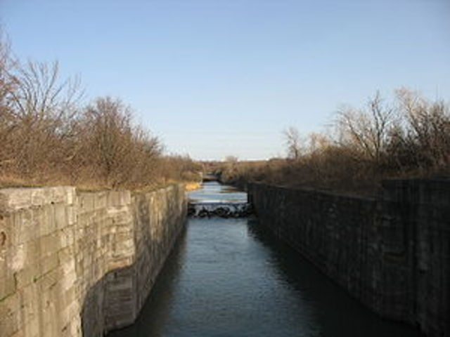 First Welland Canal Construction