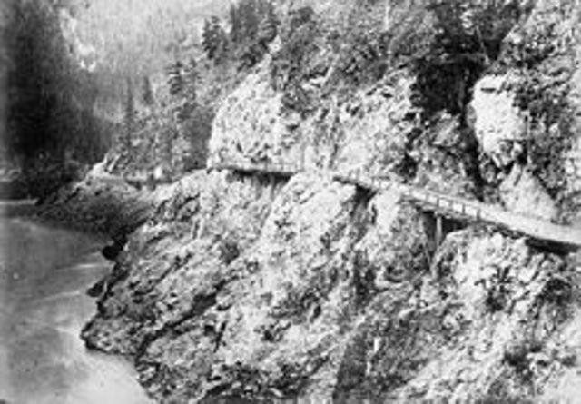 Construction of the Cariboo Wagon Road (British Columbia)
