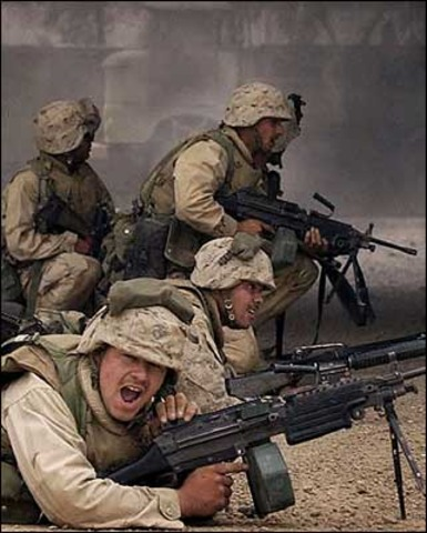 Commits troops for Iraq