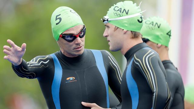 Simon Whitfield crashes out of Olympic triathlon
