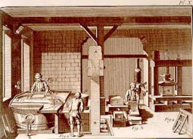 Primera fábrica de papel en España