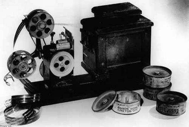 El kineroscopio y kinetógrafo