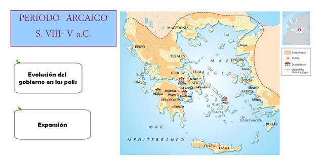 La época Arcaica (800a.C. - 500a.C.)