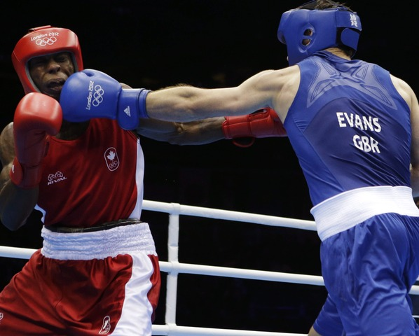 Custio Clayton loses boxing quarter-final
