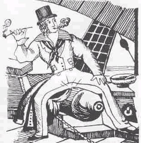 Nelson's transvestite Navy