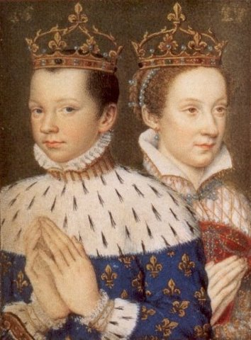 Mary and the Dauphin Francis marry.