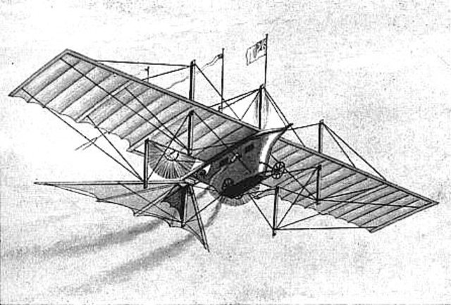 First scientific design for fixed-wing aircraft