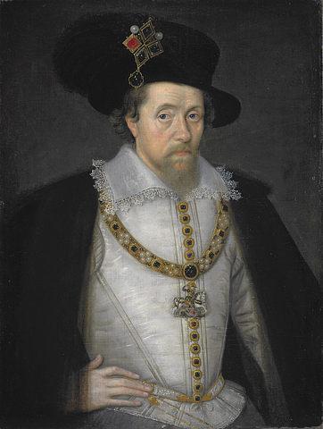 Death of Elizabeth I. James VI, Mary's son, becomes King James I of England
