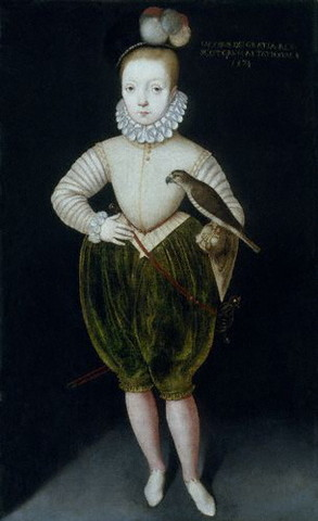 Marys son becomes King James VI of Scotland 1 year old