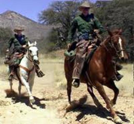 U.S. Border Patrol is Formed
