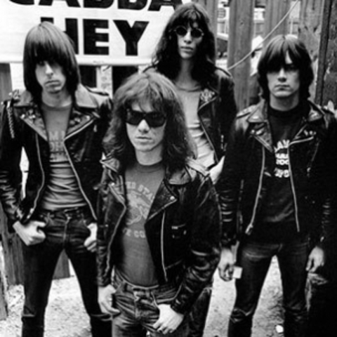 The Ramones release first album; punk begins