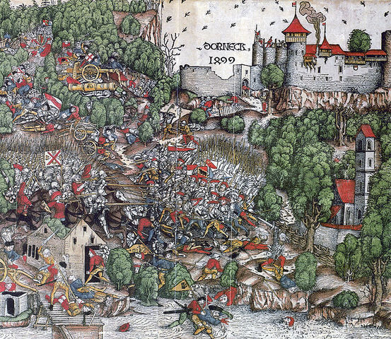 The Battle of Dornach