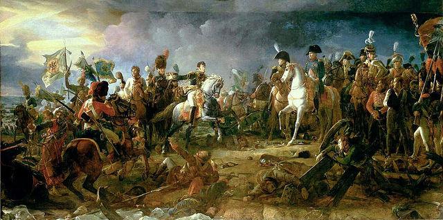 The Battle of Austerlitz,