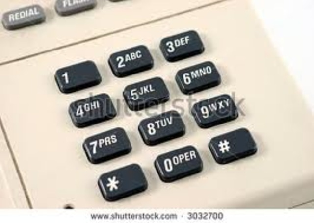 The Dial Pad Telephone