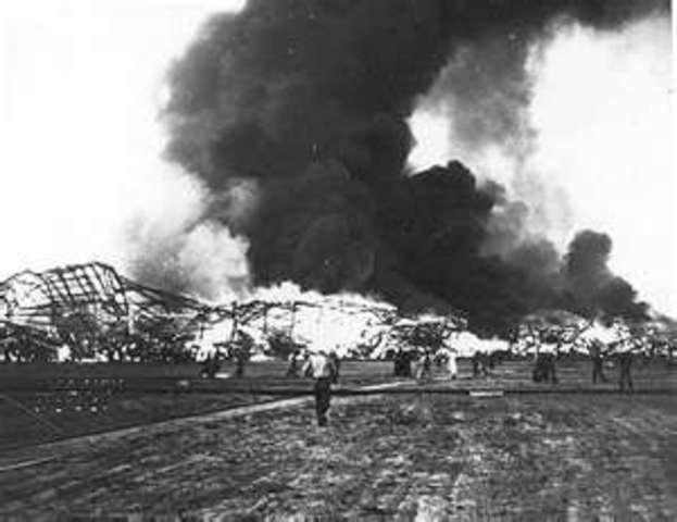 Hindenberg Crash